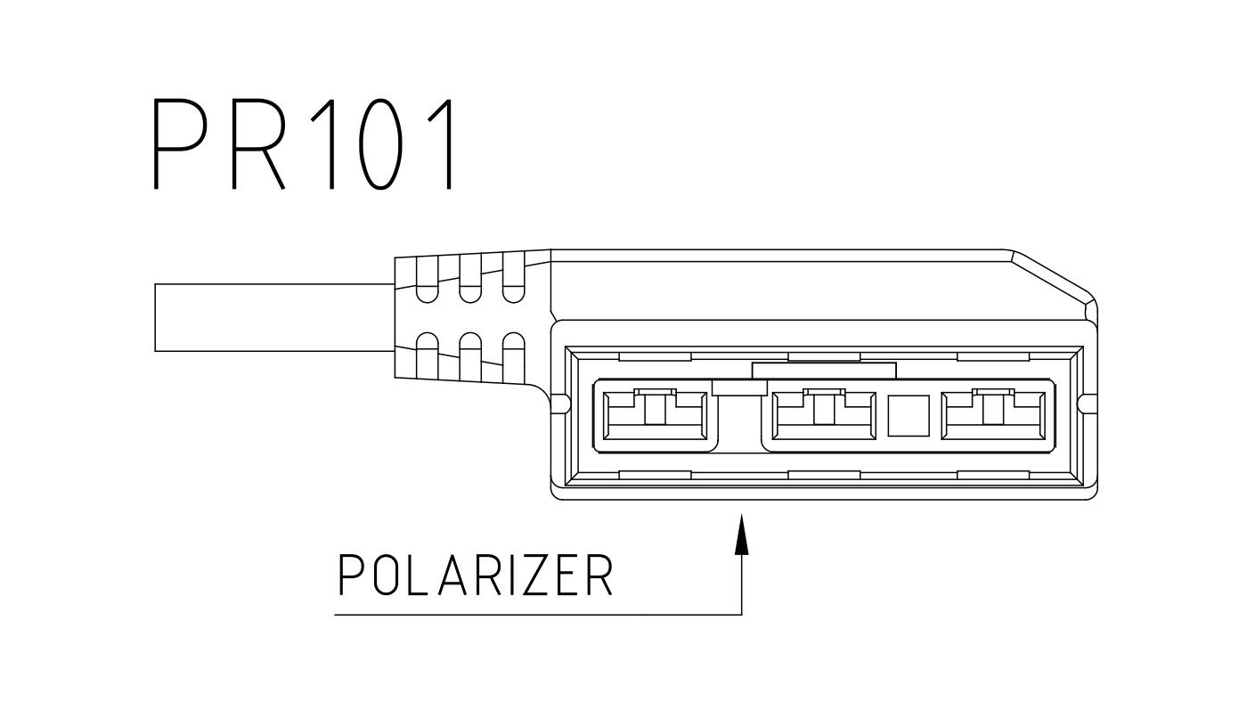 Connettori per attuatori e valvole 3 vie PR101