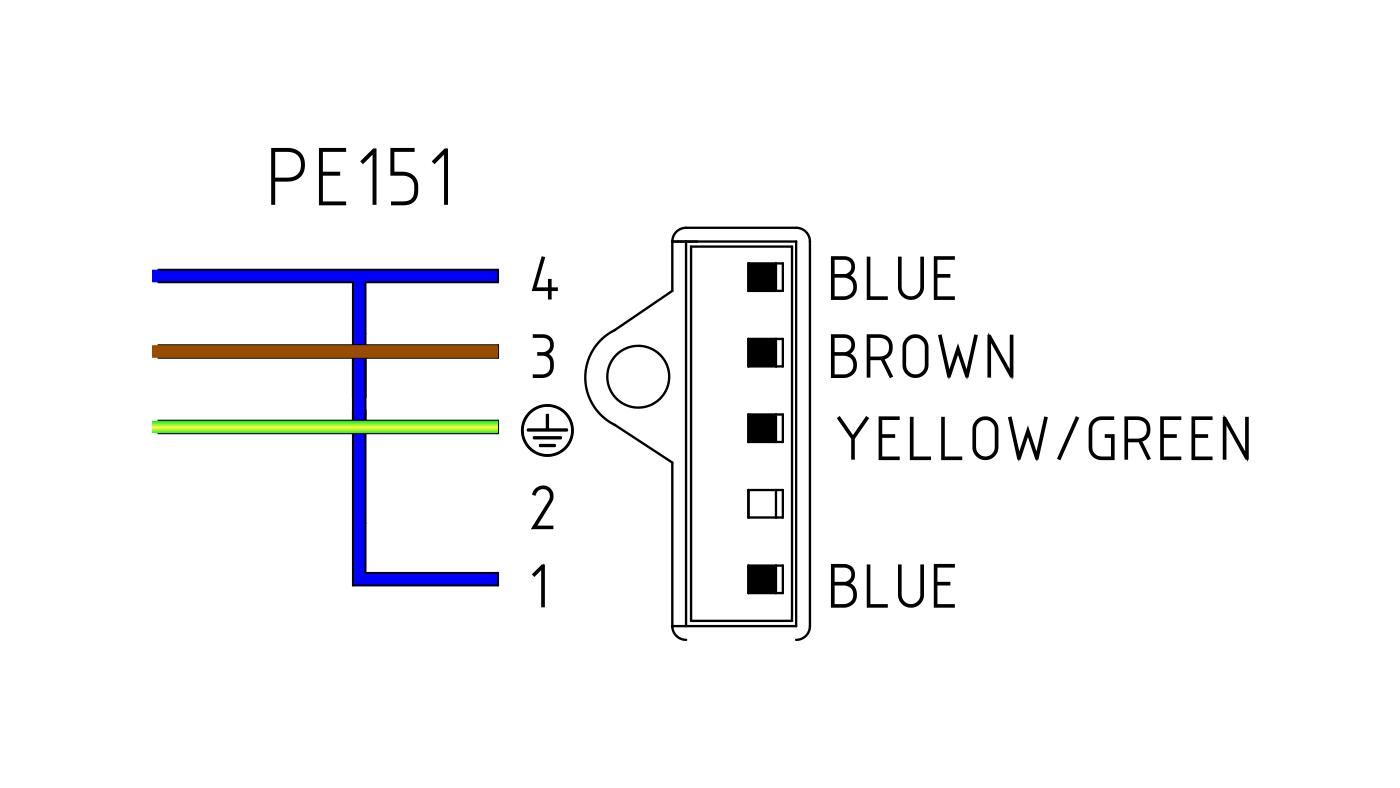 Connettori per valvole gas PE151