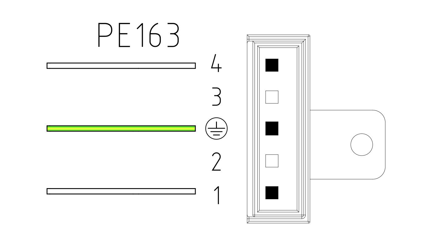 Connettori per valvole gas PE163