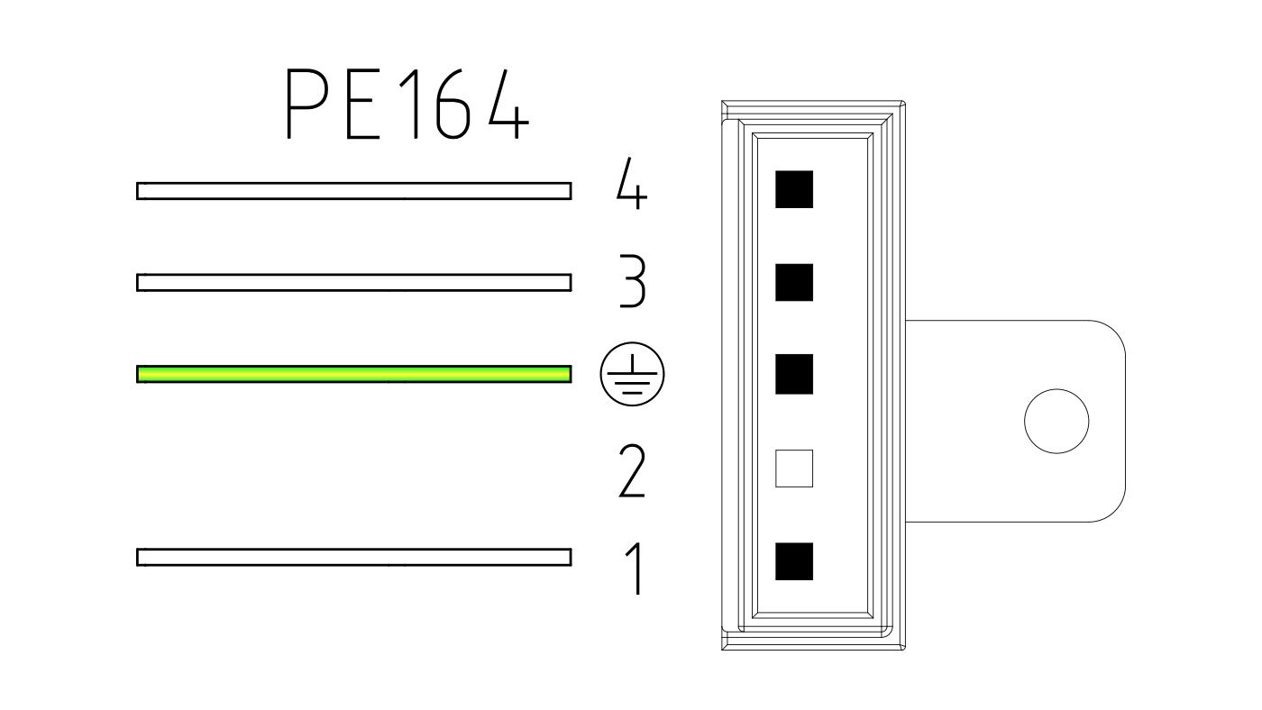 Connettori per valvole gas PE164