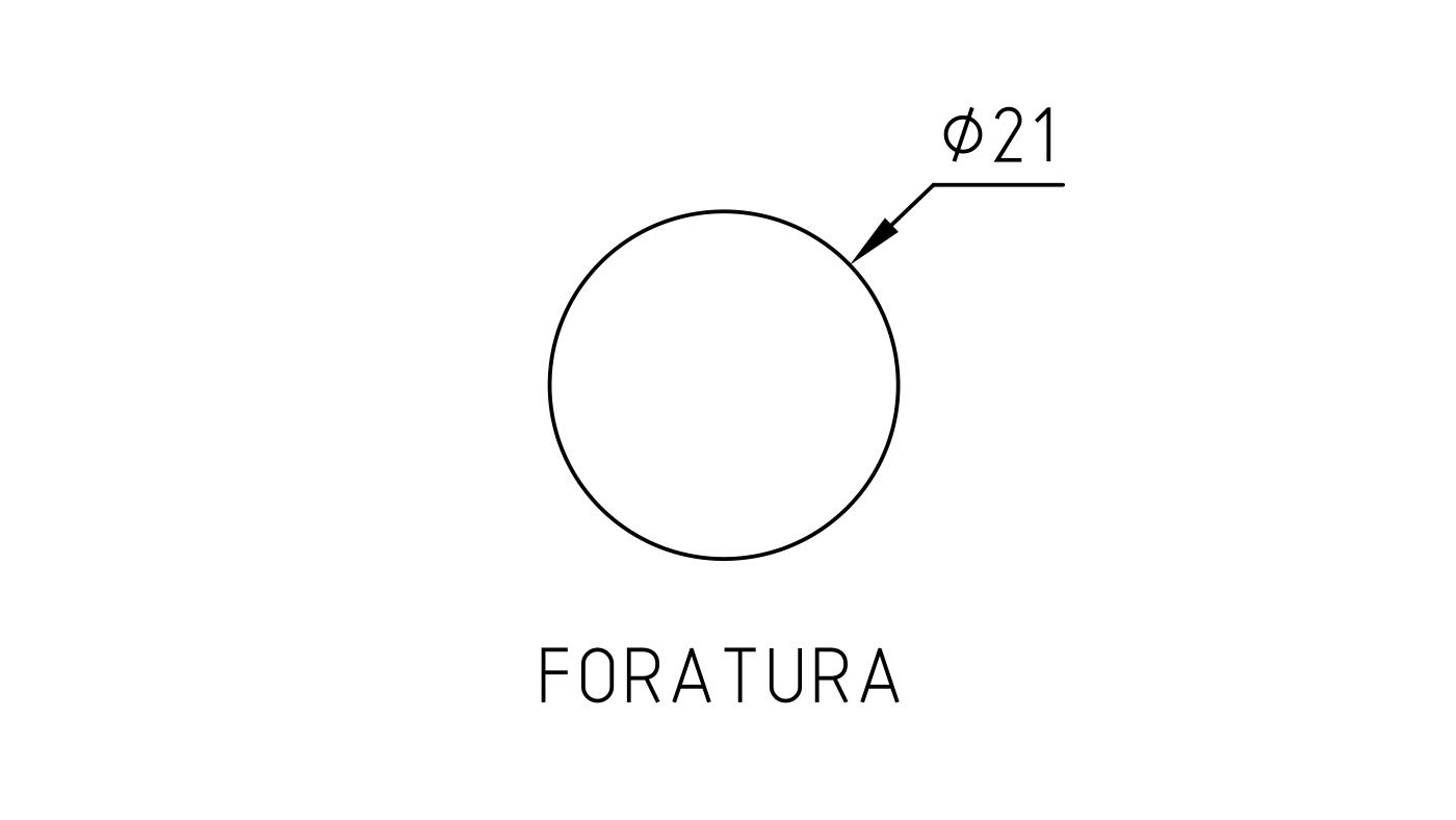 Connettori maschio-femmina pr122-pr123_foratura_disegno-tecnico