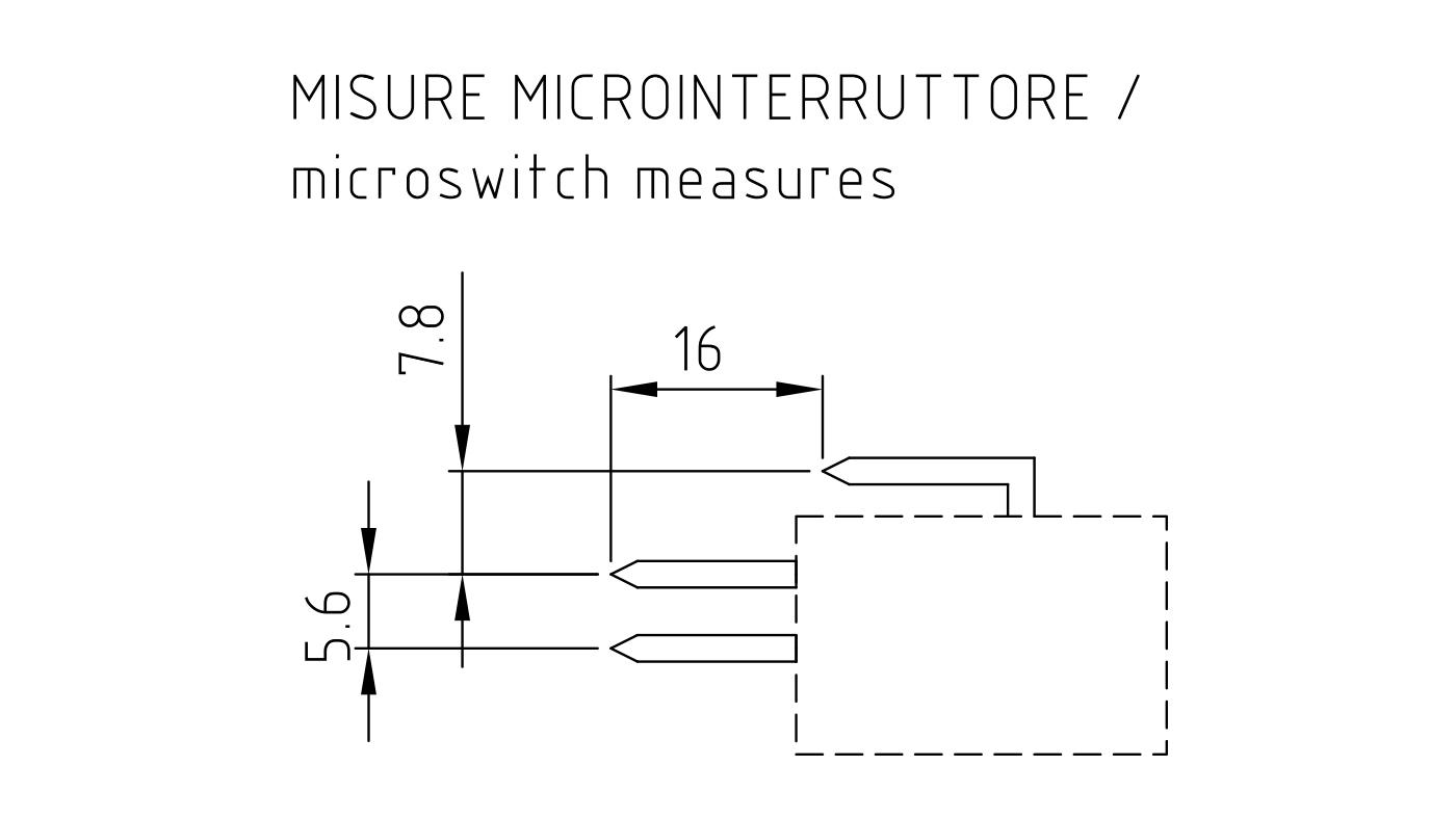 Connettori per pressostati, flussostati e microinterruttori PR16