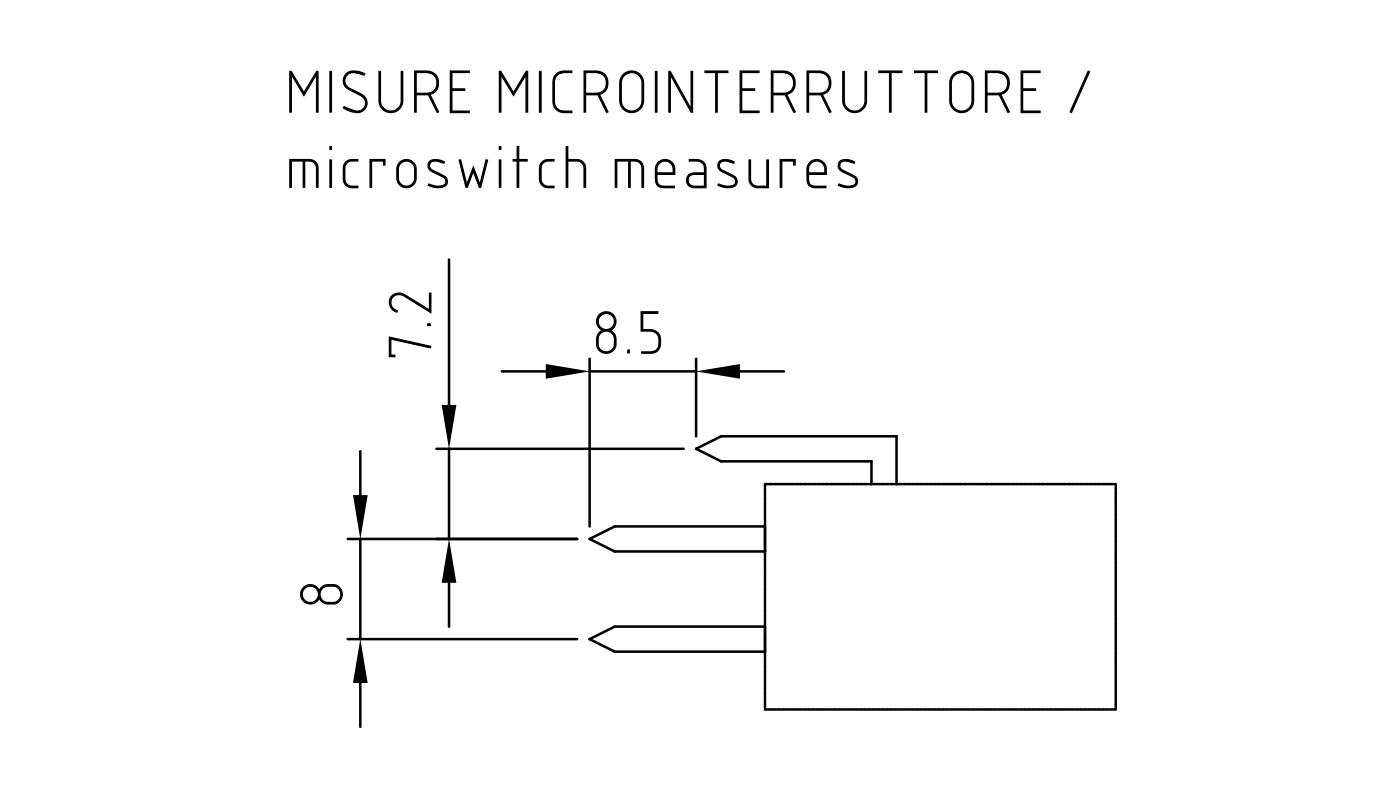 Connettori per pressostati, flussostati e microinterruttori PR17