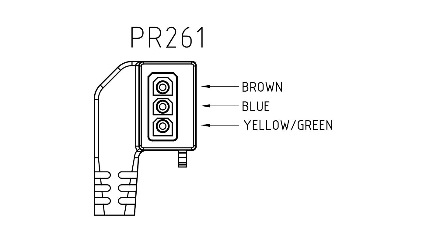 Connettori per pompe circolatori PR261