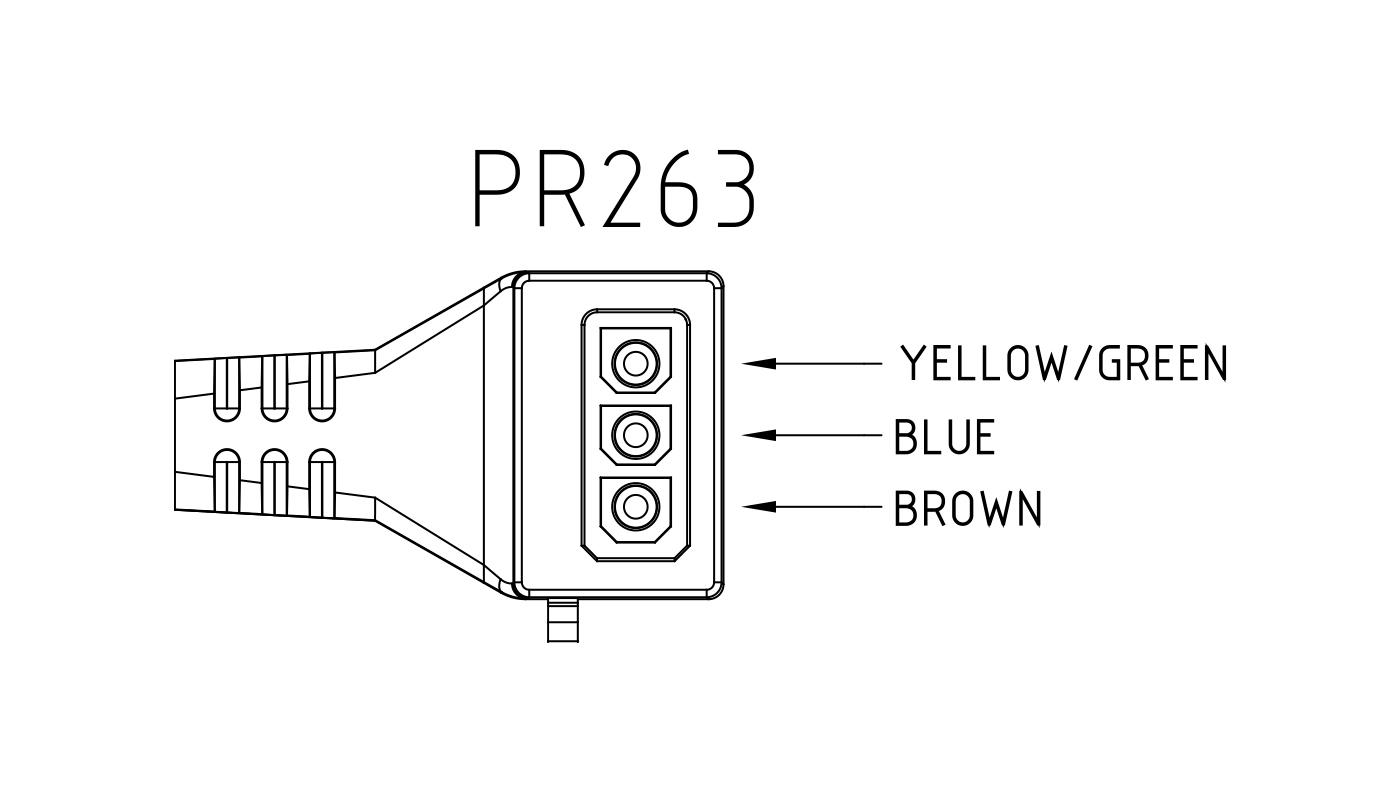 Connettori per pompe circolatori PR263