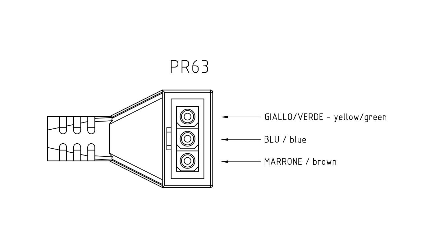 Connettori per pompe circolatori PR63