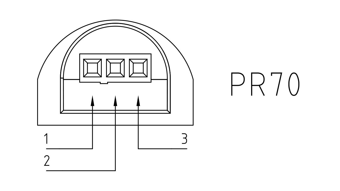 Connettori per pompe circolatori PR70