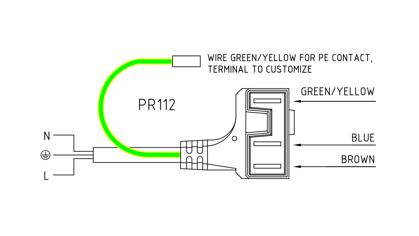Connettori per elettrodi di accensione e rilevazione e trasformatori di accensione PR112