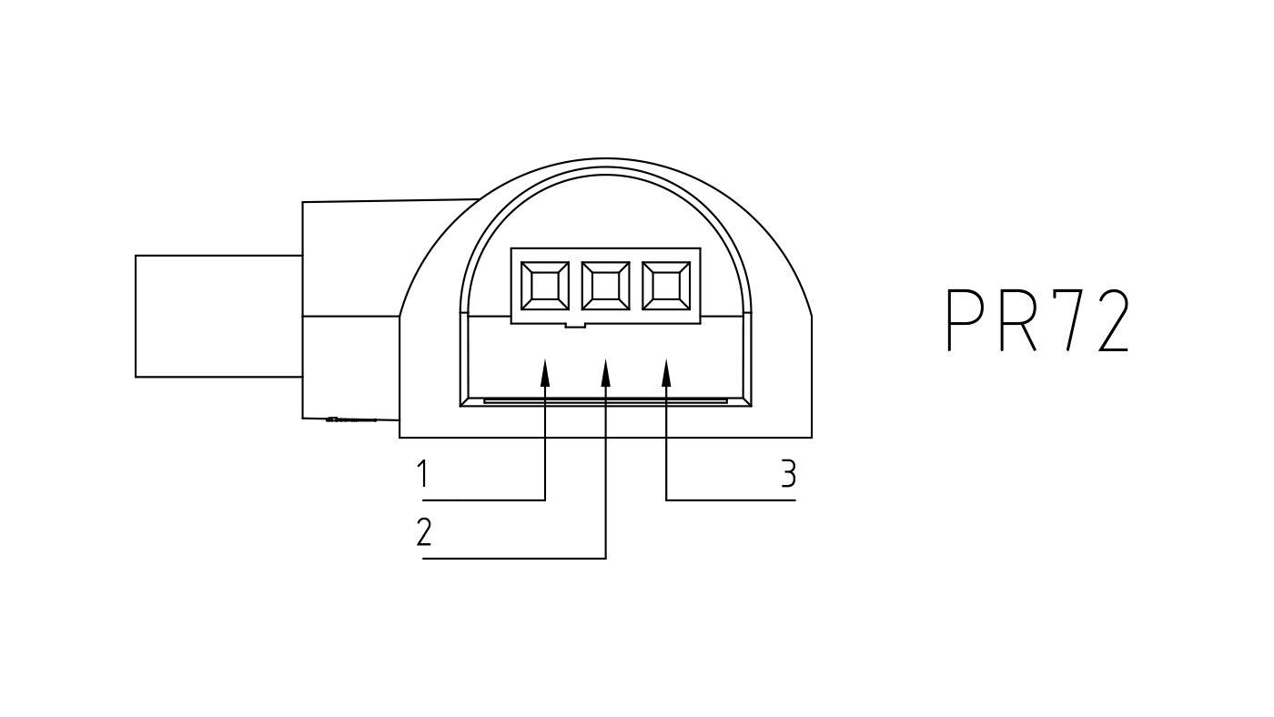 Connettori per pompe circolatori PR72