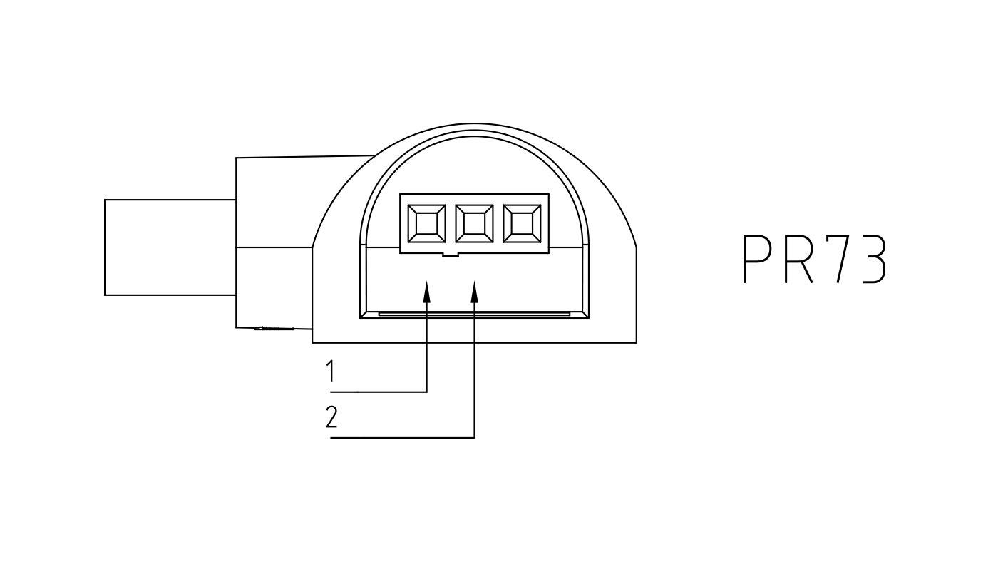 Connettori per pompe circolatori PR73