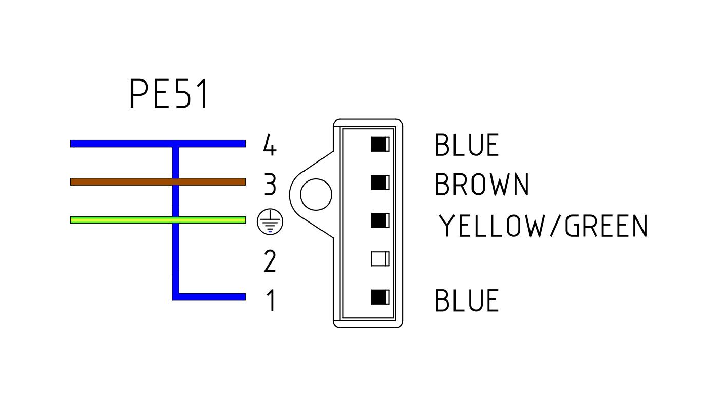 Connettori per valvole gas PE51