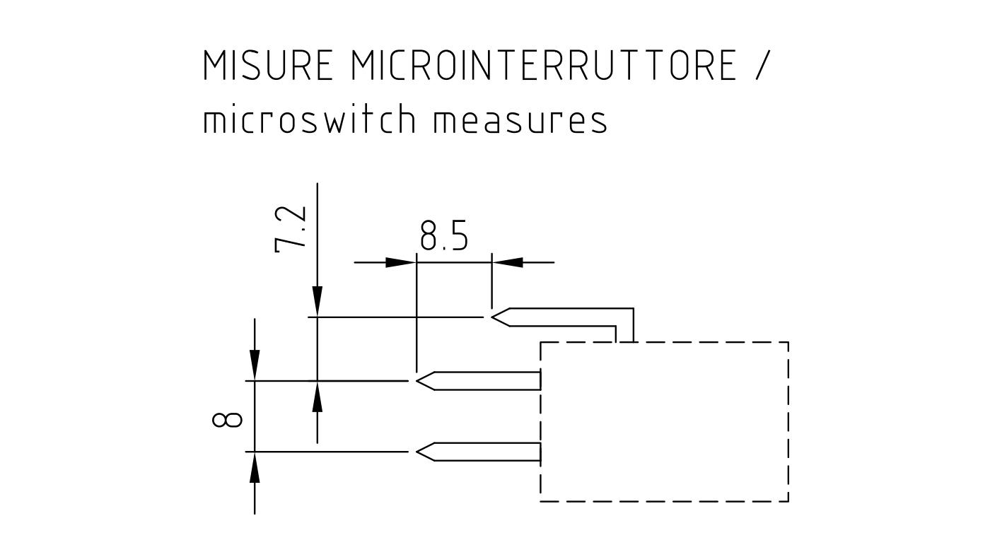 Connettori per pressostati, flussostati e microinterruttori PR02