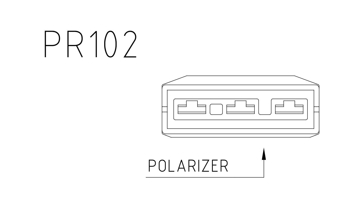 Connettori per attuatori e valvole 3 vie PR102