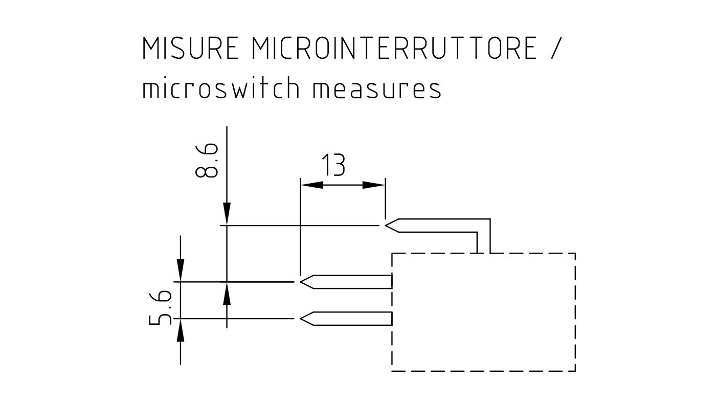 Connettori per pressostati, flussostati e microinterruttori PR13-14-15