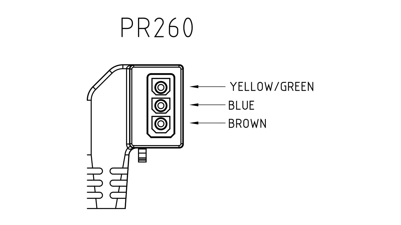 Connettori per pompe circolatori PR260