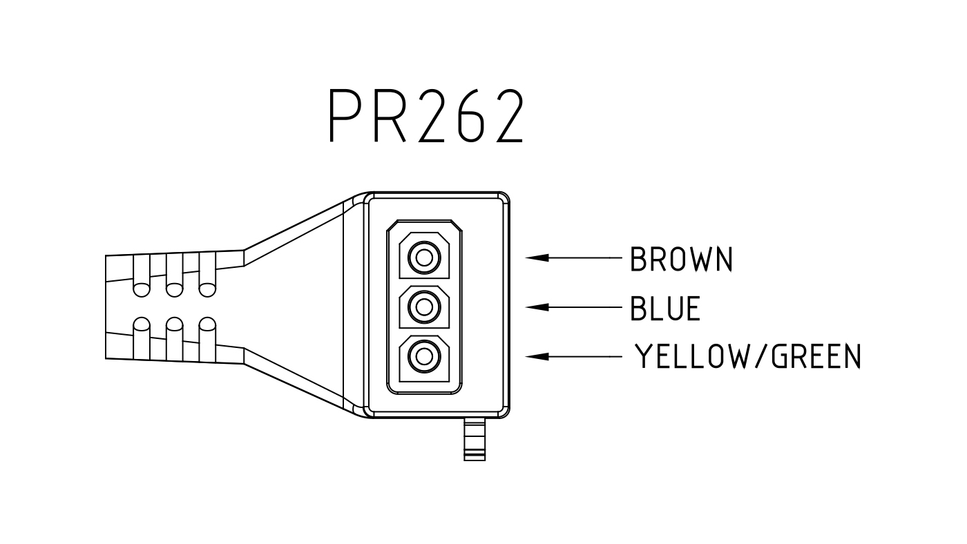 Connettori per pompe circolatori PR262