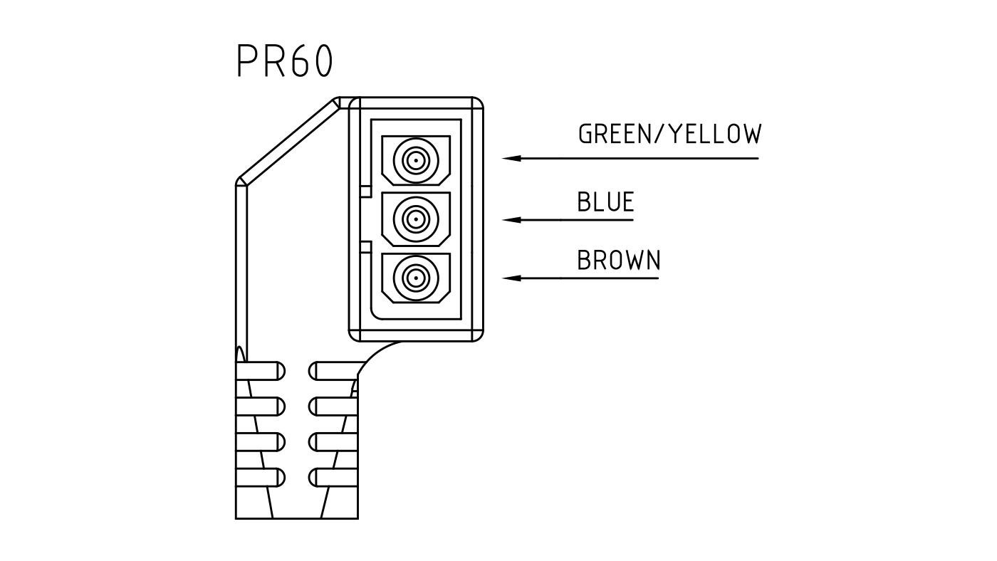 Connettori per pompe circolatori PR60