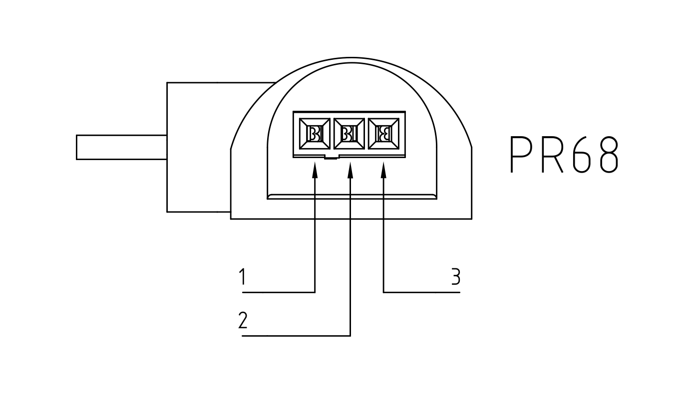 Connettori per pompe circolatori PR68