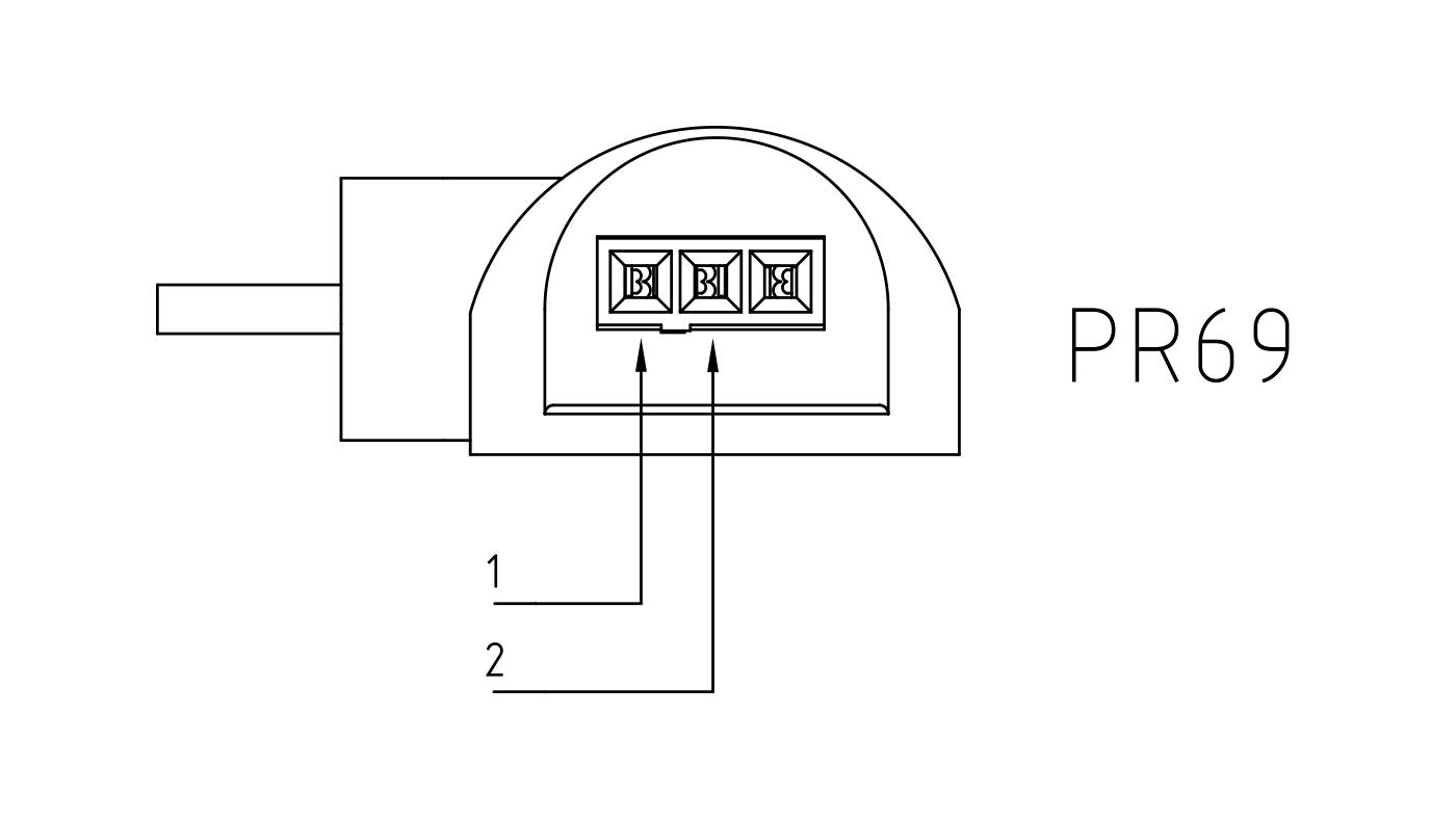Connettori per pompe circolatori PR69